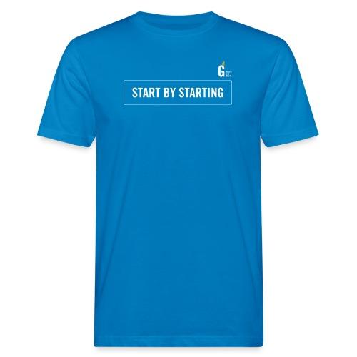 Start by starting I - Men's Organic T-Shirt