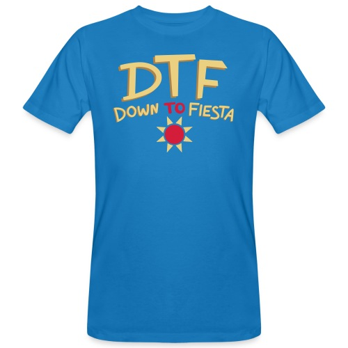 Perfect DTF - Mannen Bio-T-shirt