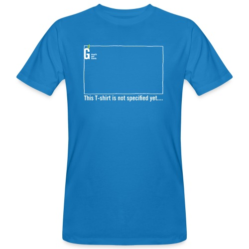 Not specified yet I - Men's Organic T-Shirt