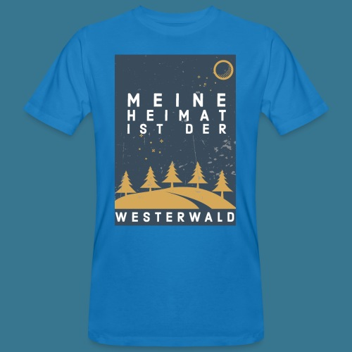 Heimatliebe Westerwald - Männer Bio-T-Shirt