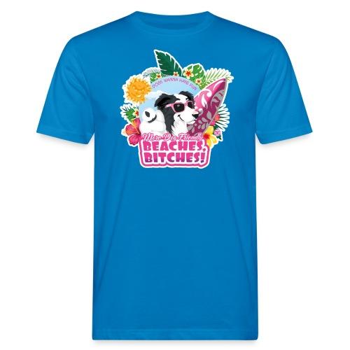 More Dog-Friendly Beaches - Men's Organic T-Shirt