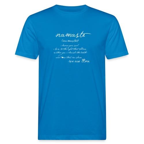 Yoga Namaste - Männer Bio-T-Shirt