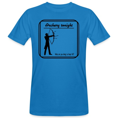 Archery tonight - Miesten luonnonmukainen t-paita