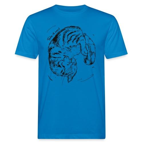 Take it cool BLACK - Men's Organic T-Shirt