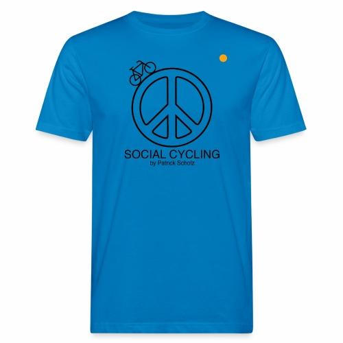 Social Cycling - Männer Bio-T-Shirt