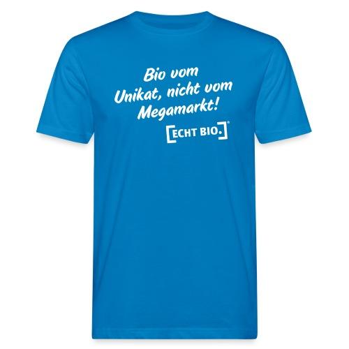 Bio vom Unikat - Männer Bio-T-Shirt