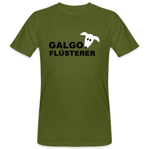 Galgoflüsterer - Männer Bio-T-Shirt