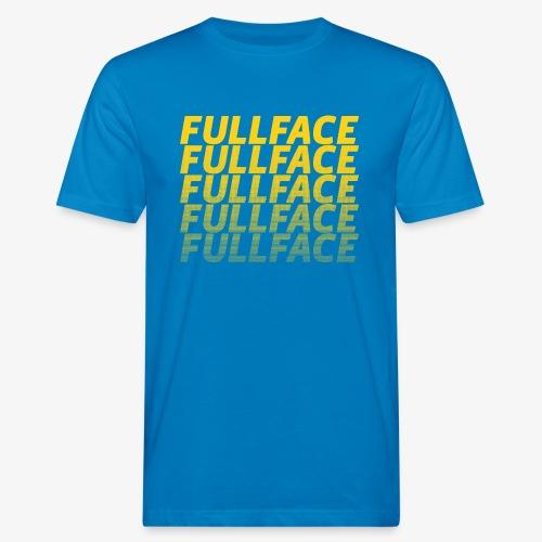 FULLFACE #1 yellow - Männer Bio-T-Shirt