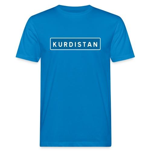 Kurdistanskylt - Ekologisk T-shirt herr