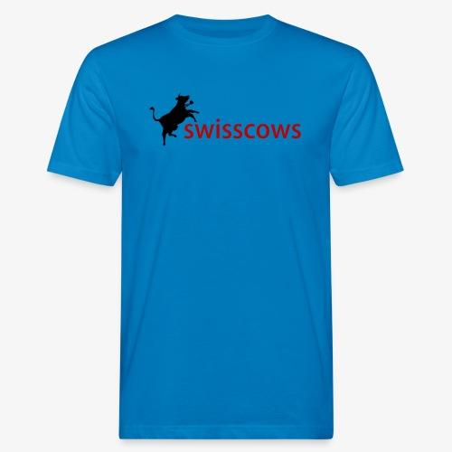Swisscows - Männer Bio-T-Shirt