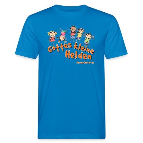 Gottes kleine Helden - Männer Bio-T-Shirt