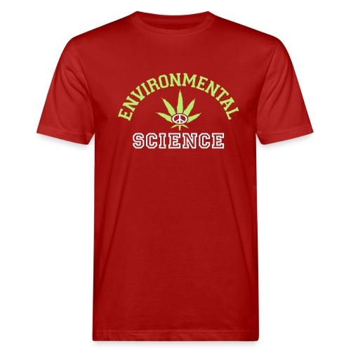 yellowibis varsityenvsci vec - Men's Organic T-Shirt