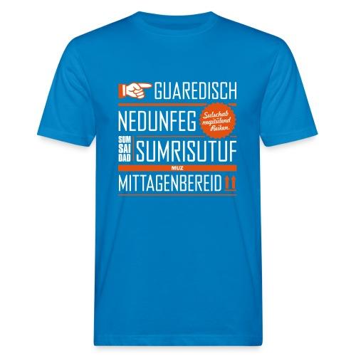 typo end kavaler 2c2 - Männer Bio-T-Shirt