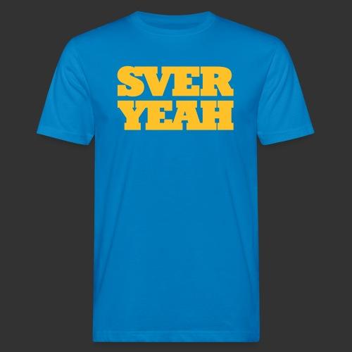 SVERYEAH BlåGul - Ekologisk T-shirt herr
