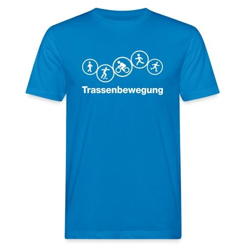 Trassenbewegung eps - Männer Bio-T-Shirt