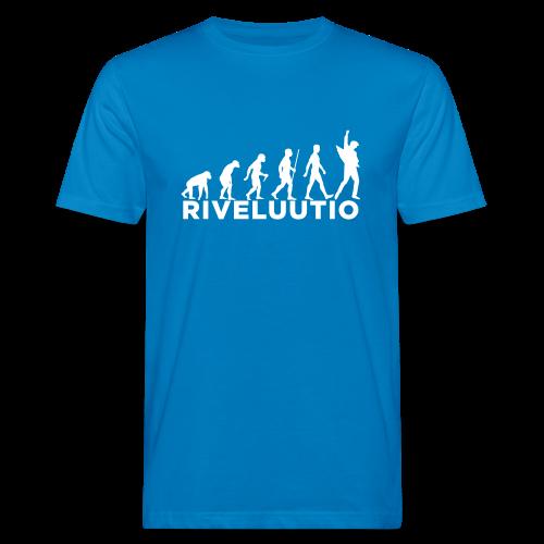 Riveluutio - Miesten luonnonmukainen t-paita