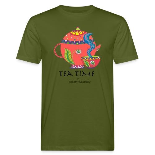 L'heure du thé - T-shirt bio Homme