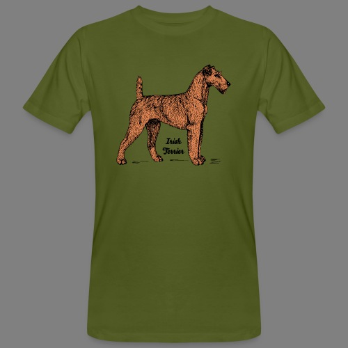 Irish Terrier - Männer Bio-T-Shirt