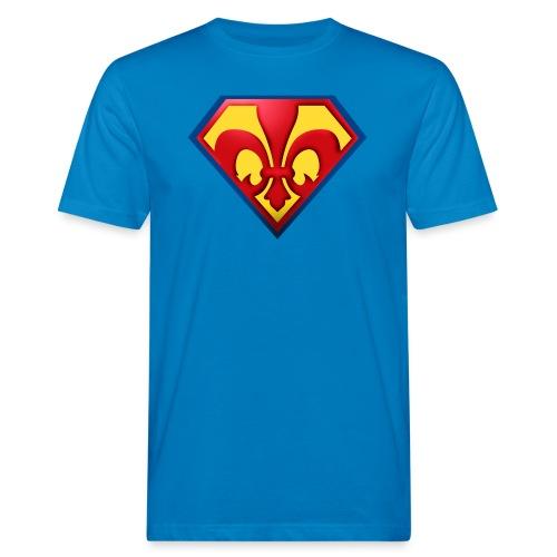 Fabulous Scout - Lilie im Wappen - Männer Bio-T-Shirt