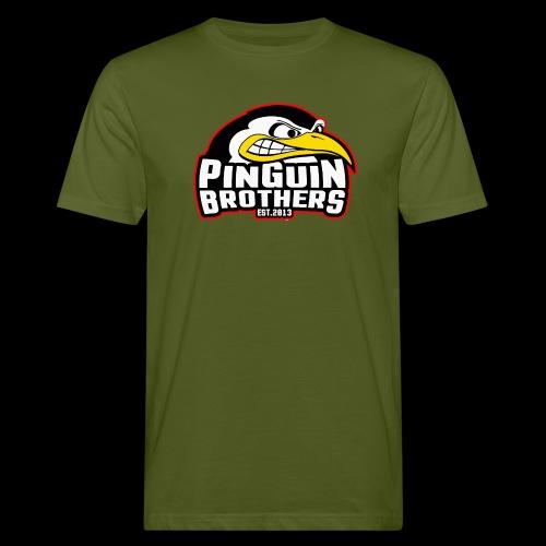 Pinguin bracia Clan - Ekologiczna koszulka męska
