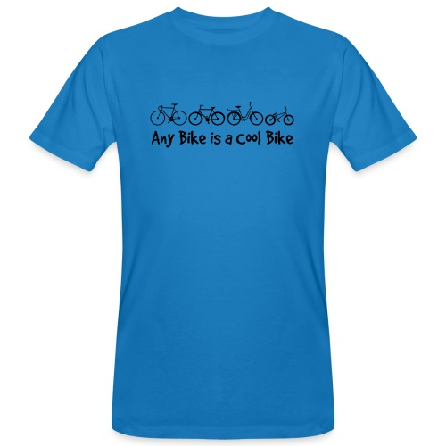 Any Bike is a Cool Bike Kids - Men's Organic T-Shirt