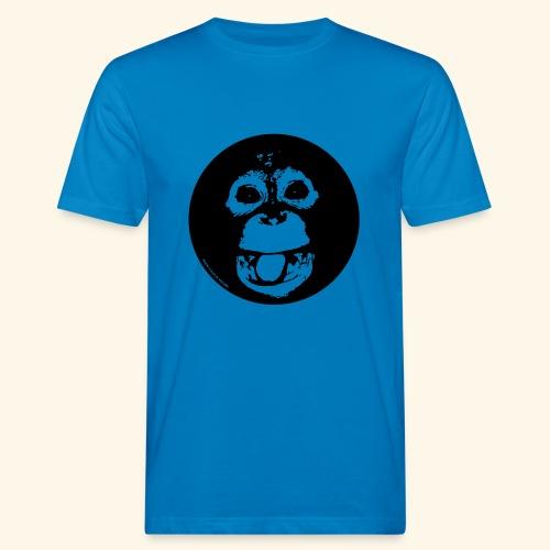Lustiger Orang - Männer Bio-T-Shirt