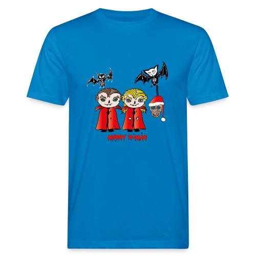 Frohe Weihnachten - Männer Bio-T-Shirt