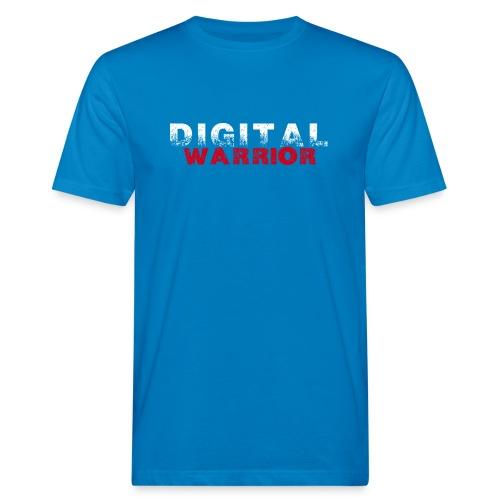 DIGITAl WARRIOR II - Ekologiczna koszulka męska