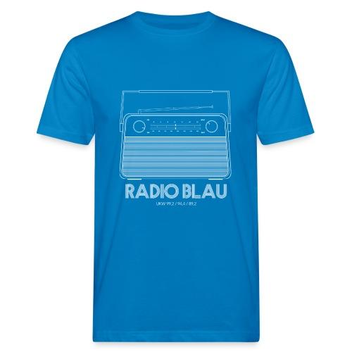 Retro Radio - Männer Bio-T-Shirt