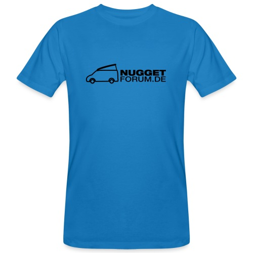 Nuggetforum Aufkleber Auf - Männer Bio-T-Shirt