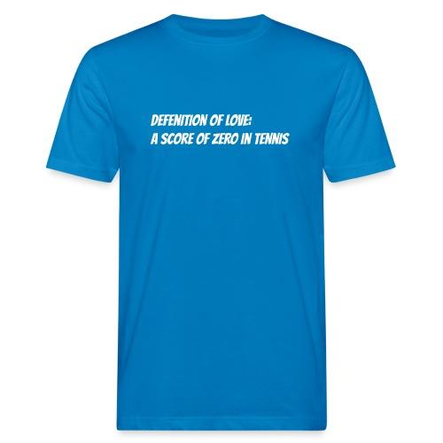 Tennis Love sweater woman - Mannen Bio-T-shirt