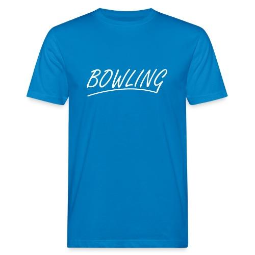Bowling souligné - T-shirt bio Homme