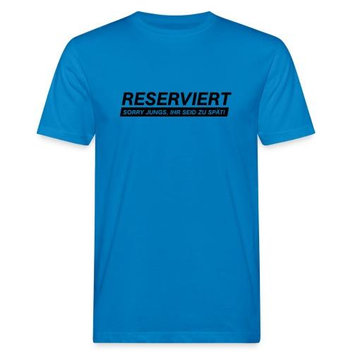 reserviert für frauen 01 - Männer Bio-T-Shirt
