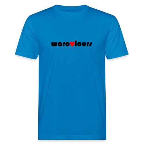 love warcolours black - Men's Organic T-Shirt