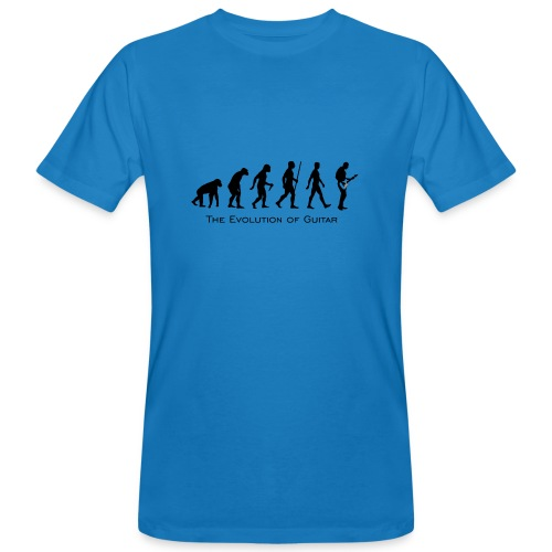 The Evolution Of Guitar - Camiseta ecológica hombre