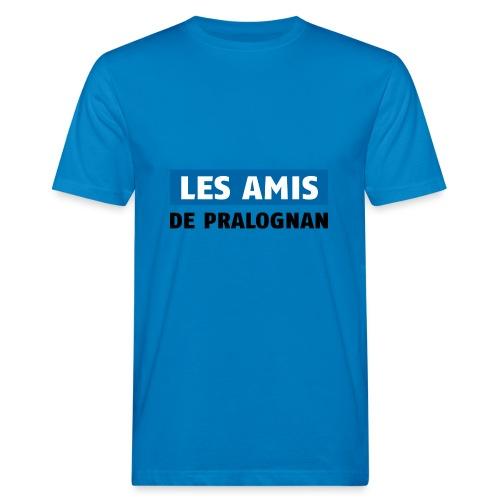 les amis de pralognan texte - T-shirt bio Homme