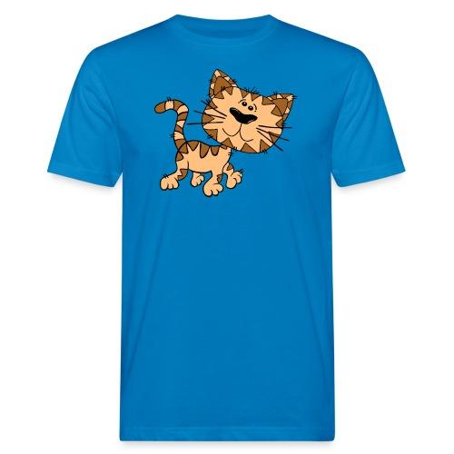 Cat - Männer Bio-T-Shirt