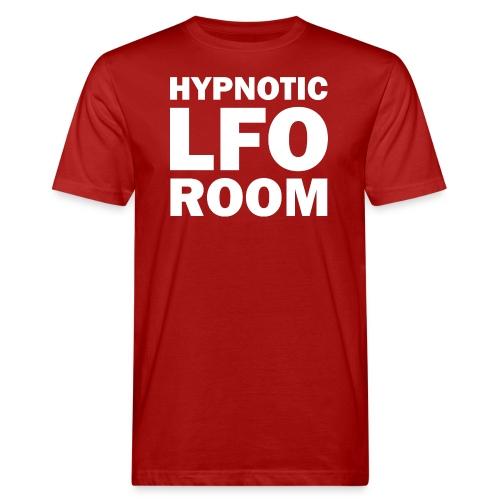 The Hypnotic Lfo Room White Logo - Men's Organic T-Shirt
