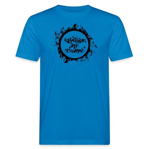 Rebellion der Träumer Logo schwarz - Männer Bio-T-Shirt
