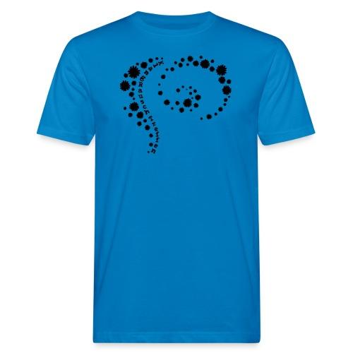 KlangRauschTreffen Blumenwirbel - Männer Bio-T-Shirt