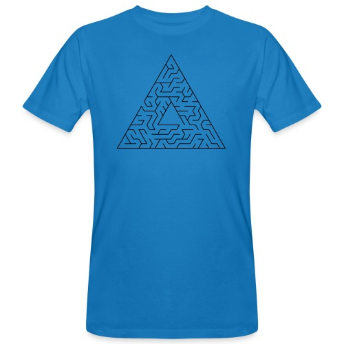 Triangle Maze - Men's Organic T-Shirt