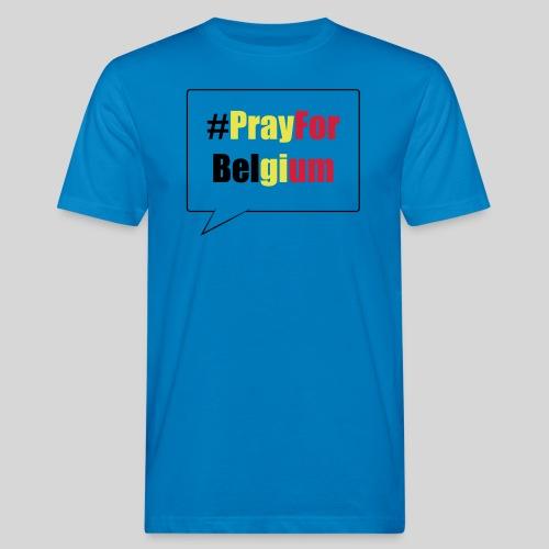 #PrayForBelgium - T-shirt bio Homme