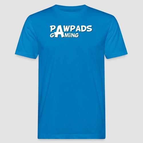 PawPads Gaming TEXT logo - Men's Organic T-Shirt