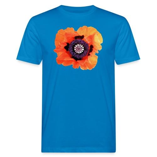 TIAN GREEN - Mohnblüte 2020 01 - Männer Bio-T-Shirt