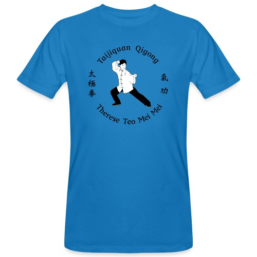 Teo Mei Mei Black Logo - Ekologisk T-shirt herr
