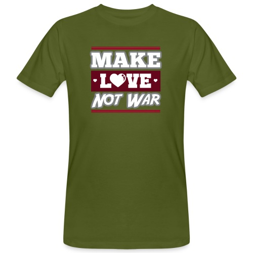 Make_love_not_war by Lattapon - Organic mænd