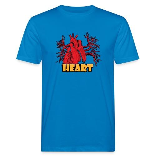 HEART - T-shirt ecologica da uomo