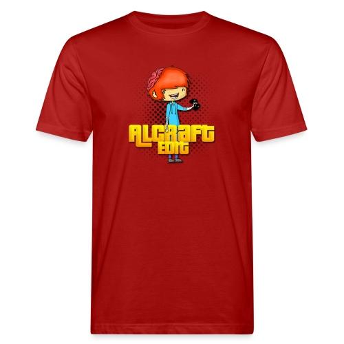 Diseño Simple AlCraft Edit - Camiseta ecológica hombre