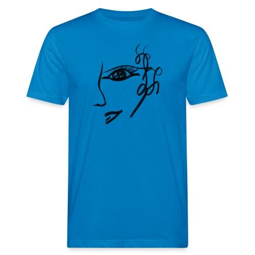 Gesicht - Männer Bio-T-Shirt