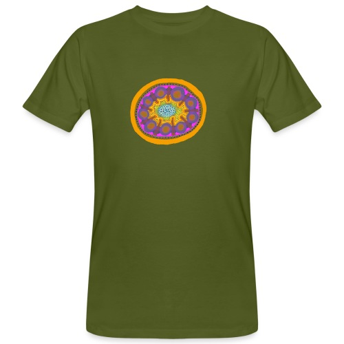 Mandala Pizza - Men's Organic T-Shirt